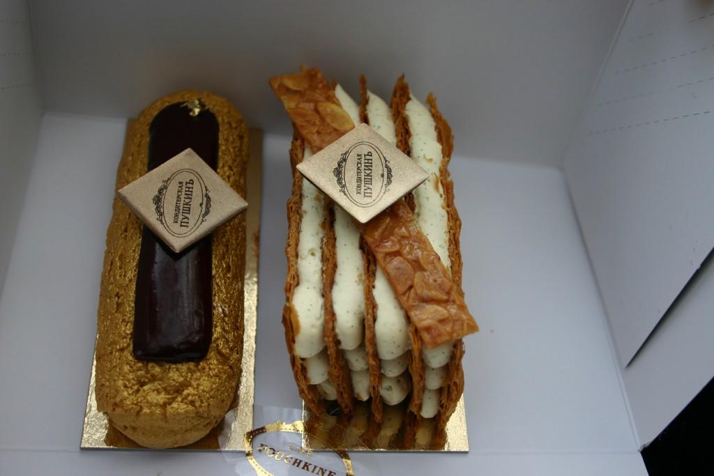 Mille Feuilles et Pur Chocolat Pouchkine