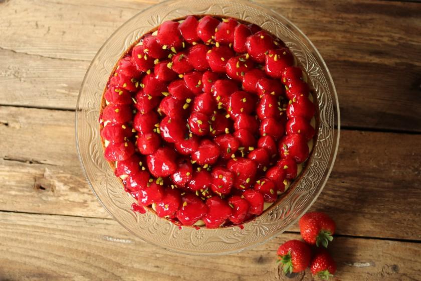 Erdbeertarte - Tarte à la Fraise