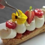 Eclair N° 88 Vanille-Fleur d'Oranger et Fruits Acidulés (Christophe Adam, Fou de Pâtisserie #5)
